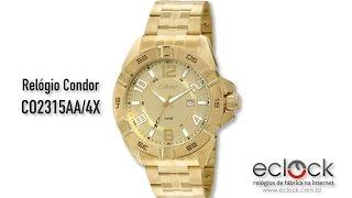 Relógio Condor Masculino CO2315AA 4X - Eclock 63d52a649a