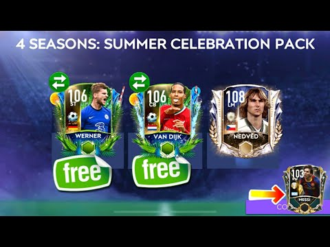 HOW TO GET FREE 106 VAN DIJK FROM SUMMER CELEBRATION EVENT   PACK OPENING  F2P GUIDE  FIFA MOBILE 21