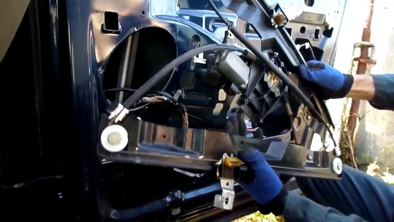 small resolution of ford explorer window motor regulator removal