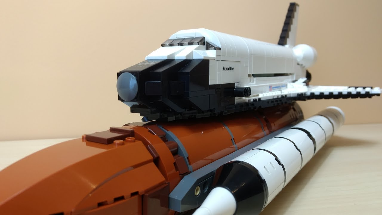 lego space shuttle speed build - photo #14