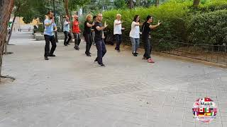 5 Section Taijiquan Solo Bare-hand Form (24 Form) performed by Instituto de Movimiento y Salud