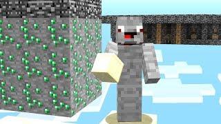 die GANZE MAP Ist UMGEDREHT!! alles auf KOPF.. Minecraft LUCKY BLOCK BEDWARS