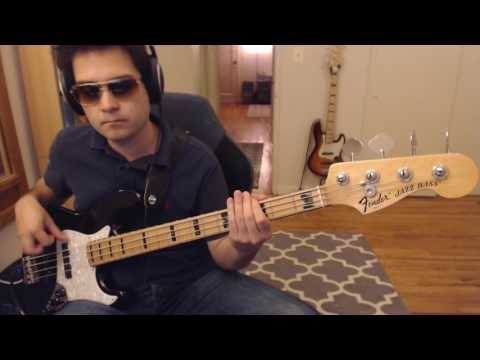 Sick Love (Red Hot Chili Peppers) bass cover