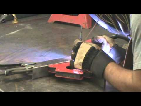 How to Weld a Right Angle Without Warping the Joint - Kevin Caron