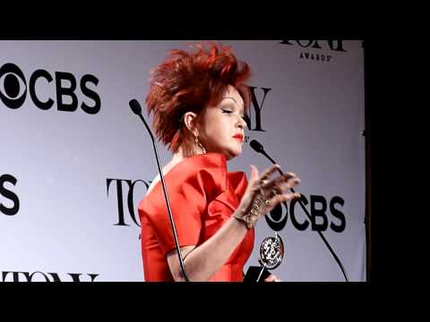 Tonys Press Room: Cyndi Lauper, Musical Score,