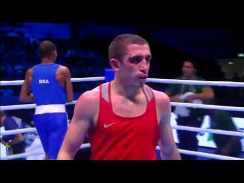 ЧМ по боксу-2015. Альберт Селимов-Робсон Консейсао 1/2. 60 кг.