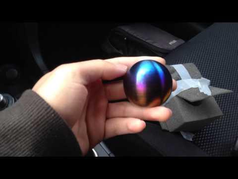 Blackline Titanium Shift Knob Install - Evo X