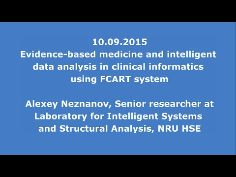 10.09.2015:Evidence-based medicine and intelligent data analysis in clinical informatics using FCART