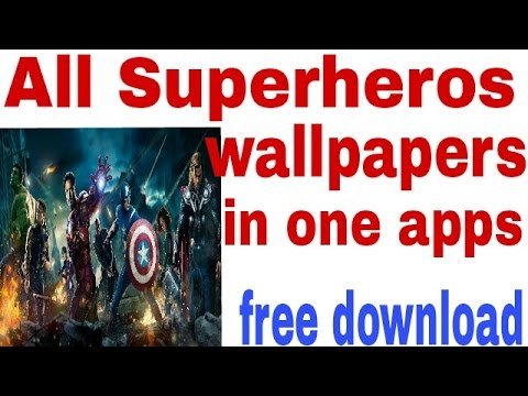All Superheroes Hd Wallpaper Collection In Andriod Apps Hd