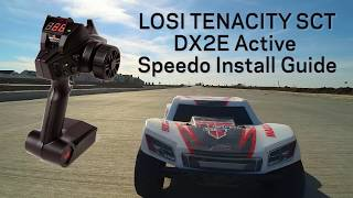 Load Video 2:  DX2E Active How To - Installing the Speedometer