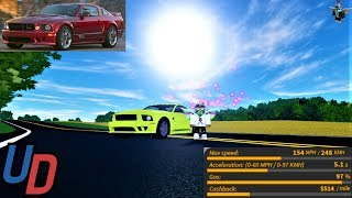 Review of the NEW Saleen S281 in Ultimate Driving Roblox