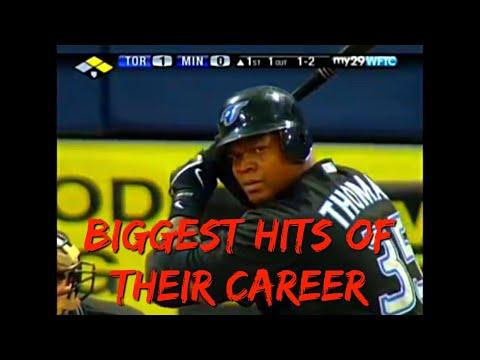 MLB Career Defining Hits