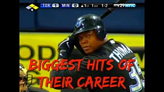 MLB Career Defining Hits