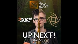 TNC Predator vs NIP Game 1 (BO3) | The Kuala Lumpur Major