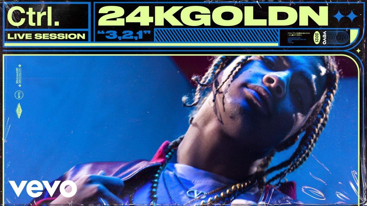 24kGoldn - 3,2,1 (Live Session) | Vevo Ctrl