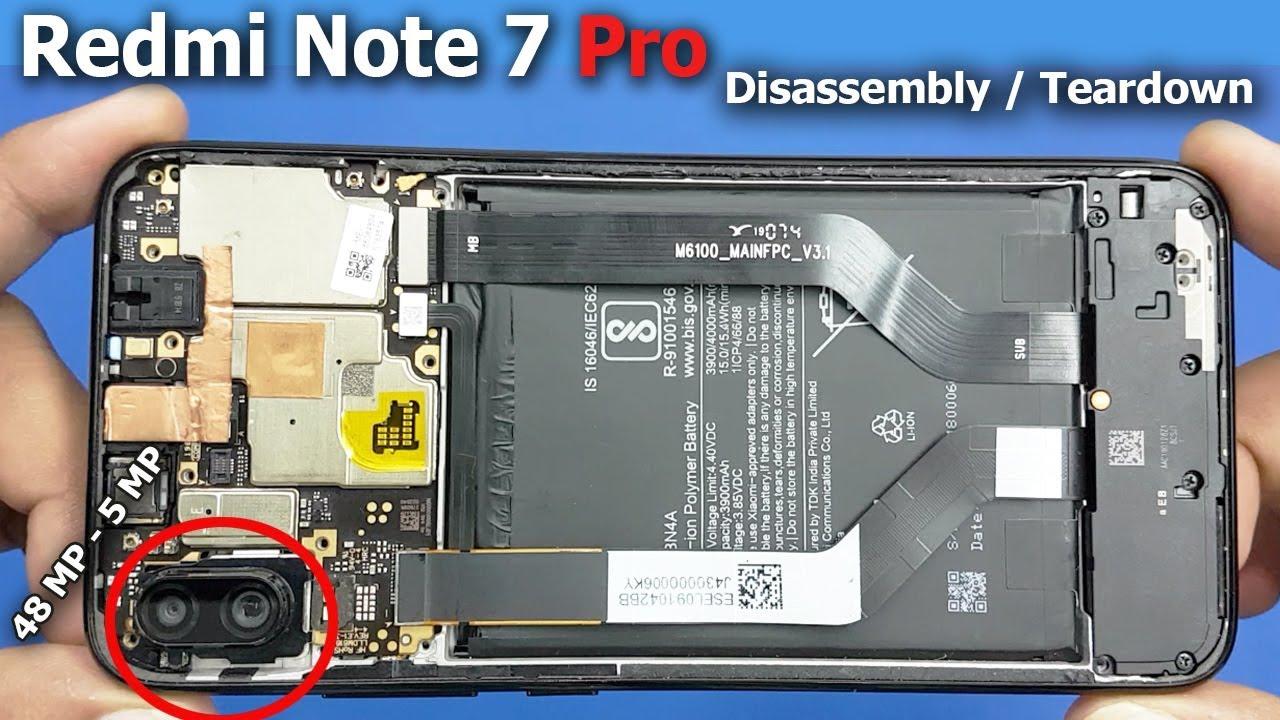 Redmi Note 7 Pro Disassembly / Redmi Note 7 Pro Teardown || How to open redmi  Note 7 Pro - YouTube