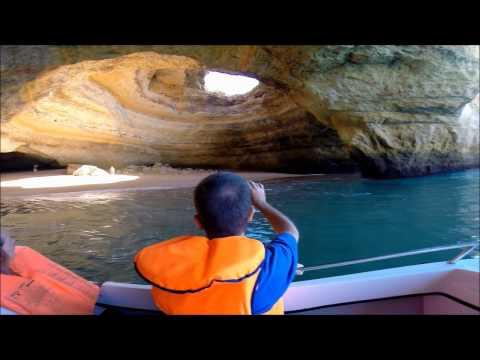 Benagil Cave Tour / Höhlen Tour / Boat / Algarve Portugal Impressions - all Caves! Travel Trip Reise