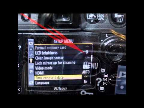 Set date and time on your camera-learn photography