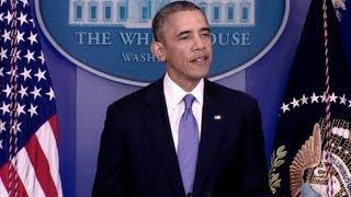 President Obama Makes a Statement