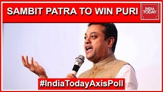 sambit-patra-likely-to-head-to-parliament-from-puri-india-today-exit-poll-2019