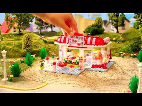Конструктор LEGO Friends Подружки Кафе в городском парке 3061