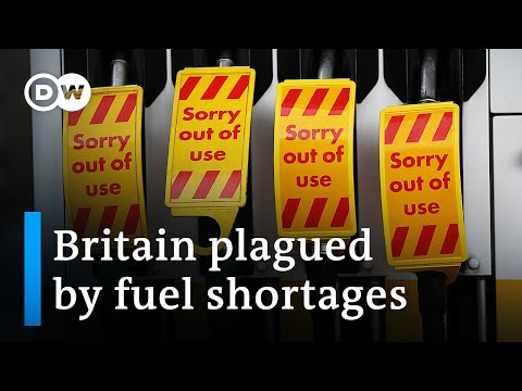 UK puts military tanker drivers on fuel delivery standby as 'precaution'   DW News