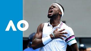 Kevin Anderson v Frances Tiafoe match highlights (2R) | Australian Open 2019