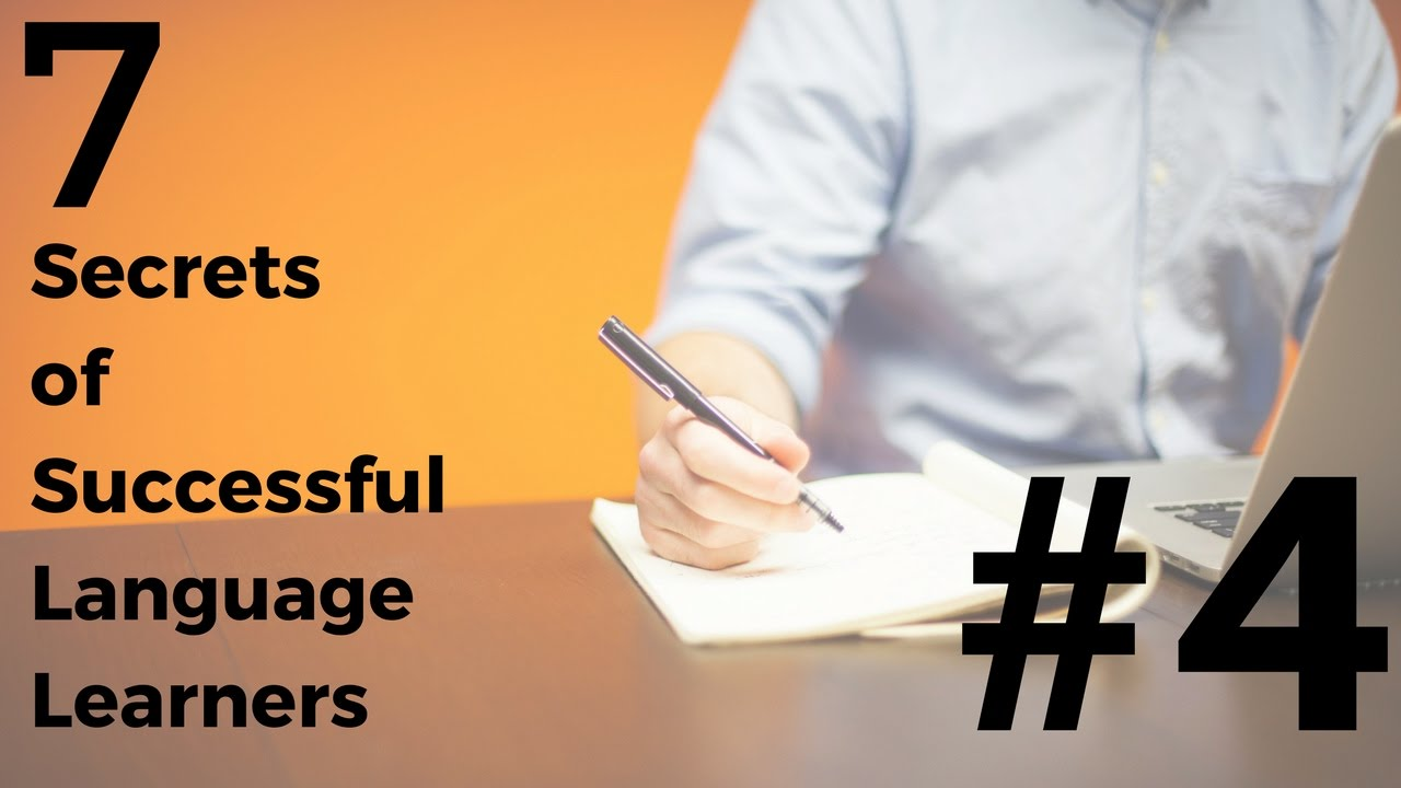 Language Learning - 7 Secrets of Success: #4 Words Over Grammar