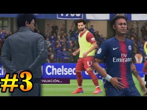 PROBLEMAS EN LA CHAMPIONS LEAGUE - FIFA 19 - MODO CARRERA thumbnail