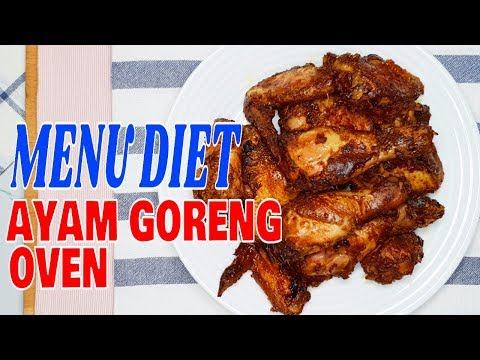 menu-diet-:-ayam-goreng-oven-|-oven-fried-chicken