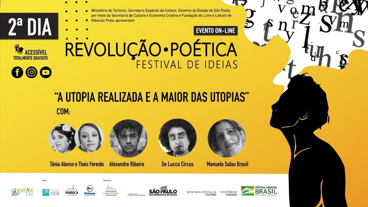 """""""Quero semear o poder de sonhar"""", disse o escritor Alexandre Ribeiro"""