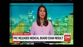 PRC releases medical board exam result