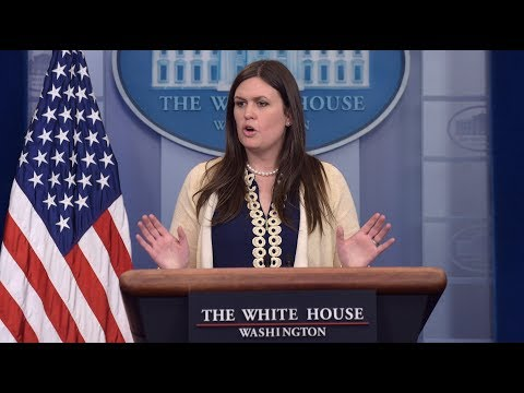 WATCH: Sarah Sanders Press Briefing from the White House Press Secretary Briefing Room