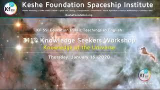 311th Knowledge Seekers Workshop January 16, 2020