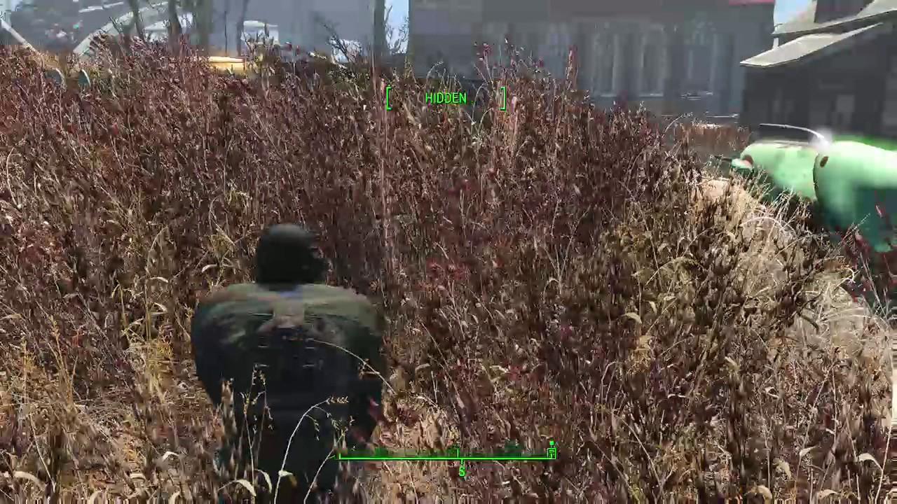 Fallout 4: Denser Taller Grass Best Flora and Gameplay Mod