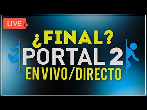 En vivo:  ¡TERMINEMOS ESTO! ♥ | Portal 2 - Gracias Charly!