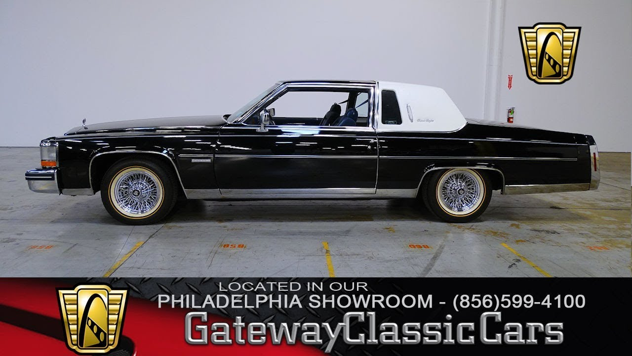1983 cadillac fleetwood brougham gateway classic cars philadelphia 292 youtube 1983 cadillac fleetwood brougham gateway classic cars philadelphia 292