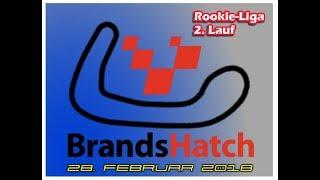 Rookieliga 2018  - 2 Lauf  Brands Hatch Indy