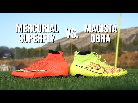 Comparativa Nike: Magista Obra vs Mercurial Superfly