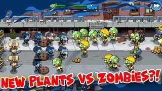 IS THIS THE NEW PLANTS VS ZOMBIES?! | SWAT and Zombies