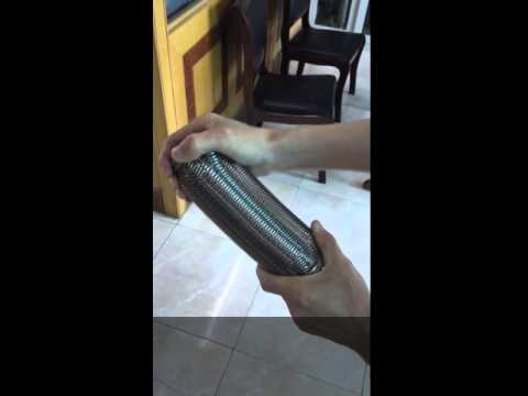 Exhaust flexible pipe-Softness