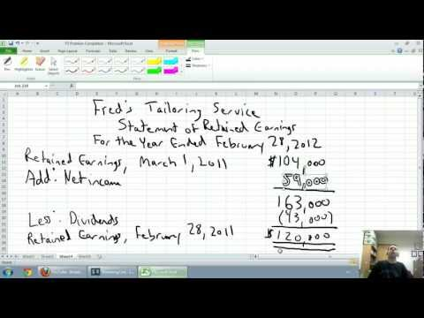 Accounting - Unit 1 - Part 5 - Financial Statement Overview