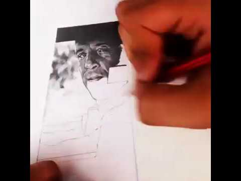 The Fast and the Furious - Furious 7 - time lapse - sketch - vin diesel - paul walker