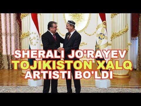 SHERALI JO'RAYEV TOJIKISTON XALQ ARTISTIGA AYLANDI