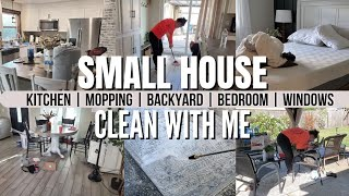 Small house cleaning motivation |  Speed cleaning motivation | SATISFYING clean with me!