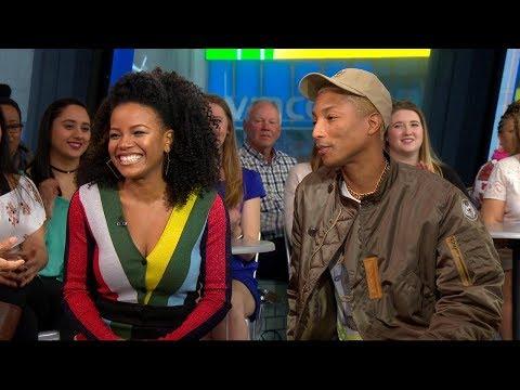 Pharrell Williams talks producing Roxanne Roxanne about female rap pioneer
