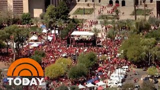 North Carolina Teachers Walk Out For Massive Rally | TODAY thumbnail