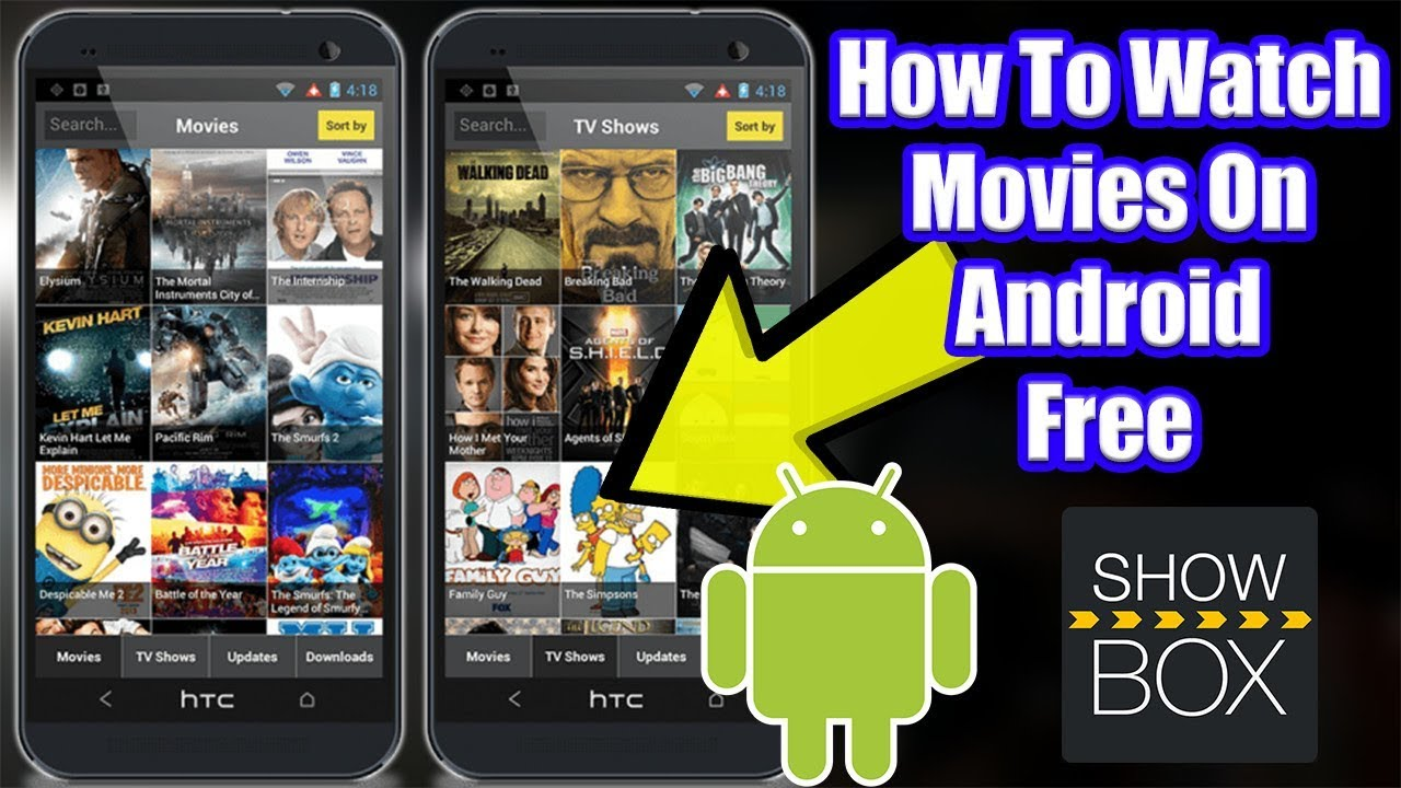 free movie apps for android 2018