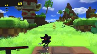 SONIC FORCES - STAGE 1 Green Hill Lost Valley Shadow S-Rank SONIC F...