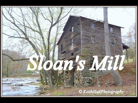 SLOAN'S MILL, HUNTING CREEK, YADKIN COUNTY